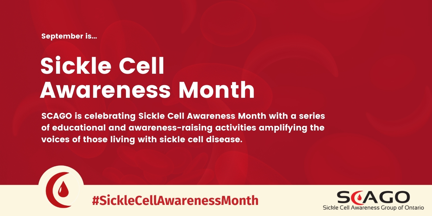 SCAGO celebrates Sickle Cell Awareness Month